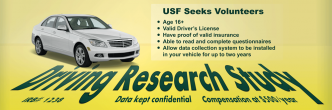 NDS driving study banner design