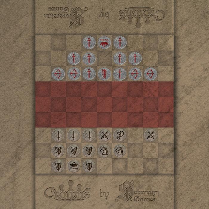 Boardgame design, Crowns board game