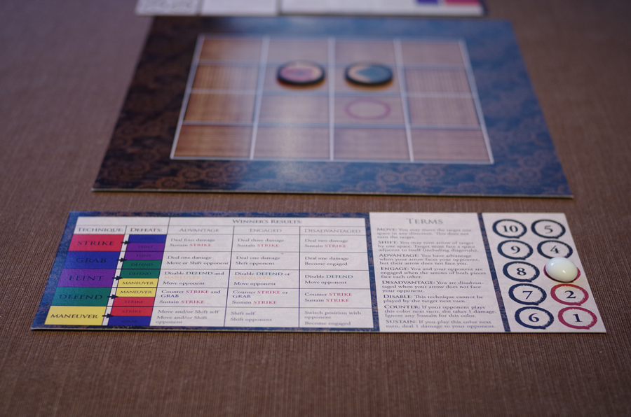 Masterless board game - Bradley L'Herrou graphic design