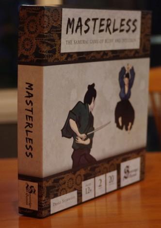 masterless board game graphic design - Bradley L'herrou